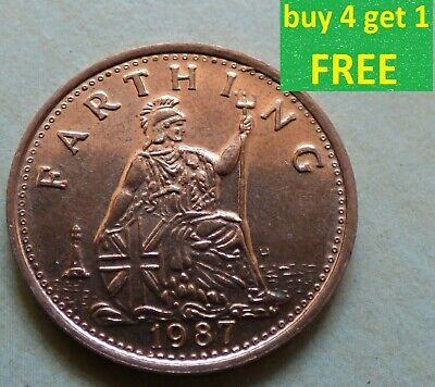 Ironbridge Gorge Museum Token Farthing, 1/2 Penny 1987 Each Coin has own Picture