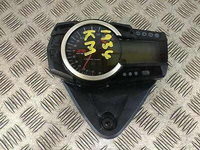 2016 Suzuki GSXR 1000 L6 (2016) Clocks (Damaged)