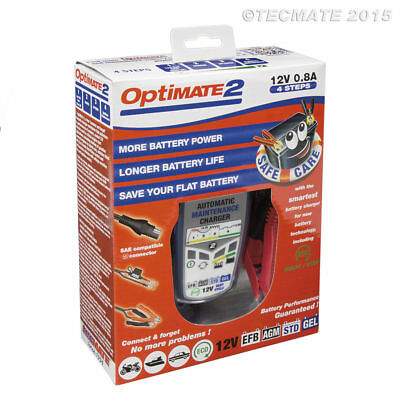 Chargeur de batterie Smart Mainteneur de recharge TecMate Optimate 2 - 4 steps