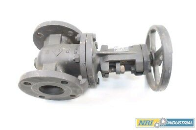 New Crane 465-1/2 Iron Flanged Wedge Gate Valve 2-1/2 In 125 D565494