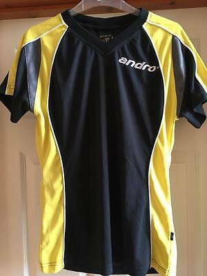Andro Female Table Tennis Shirt  size Medium