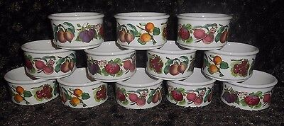 """Stacking Ramekin in Pomona by Portmeirion 3 3/8"""" EXCELLENT CONDITION! MANY AVAIL"""