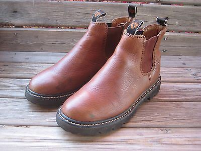 Ariat Womens Brown Leather Spot Hog Boot shoe 17520 Size US 8- 8.5 medium  39.5