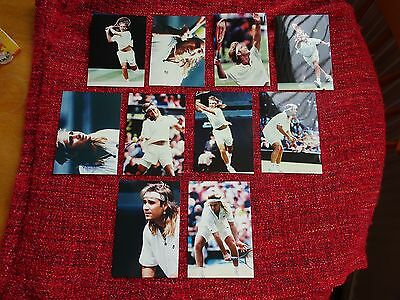 Andre Agassi - set of 10 Photo's