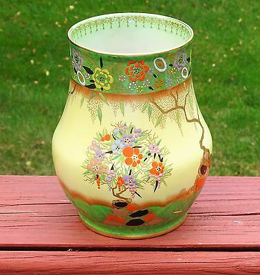 Carlton Ware English Pottery Vase - Mandarin Tree
