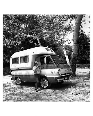 1966 Dodge A100 Pickup Truck and Camper Factory Photo ub3980