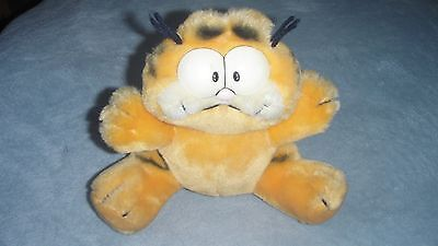 vintage garfield plush dakin 1980s original soft toy