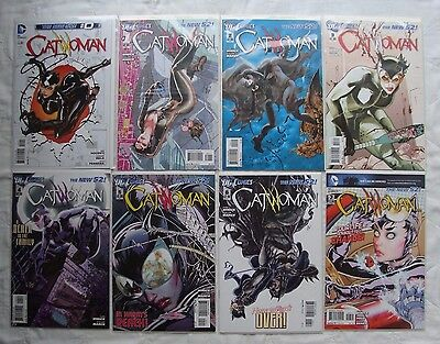 Catwoman 0 1 2 3 4 5 6 7 8 9 10  11 12 13 14 15 -22, 27 LOT of 24 DC the New 52