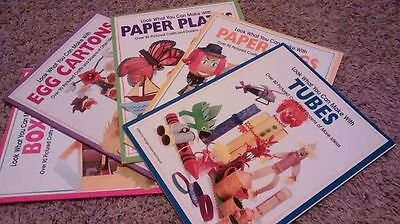 Price Reduced! 5 Elementary Creativity Art Books Awesome!