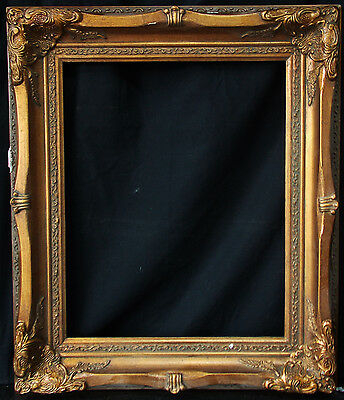 """Antique Reproduction Ornate Frame 16"""" x 20"""", 3"""" Wide, 2 1/2"""" Thick"""