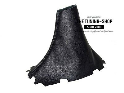 For Cadillac CTS V 2003-07 Automatic Gear Stick Gaiter Black Genuine Leather