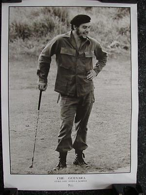 """B006 Vintage Poster of Che Guevara playing golf 1959 19"""" x 27"""" Poster Foto by A."""