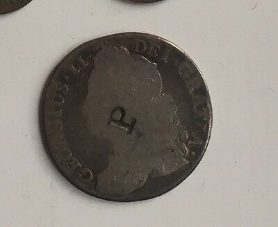 1743 British Coin George 2 Coin Shilling I Think