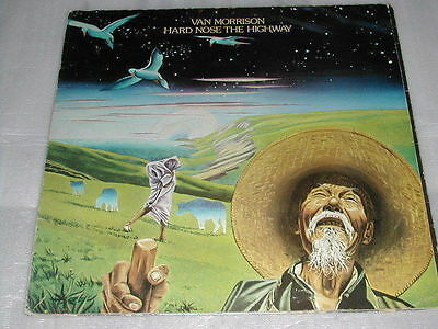 Van Morrison Hard Nose The Highway LP A1/B1