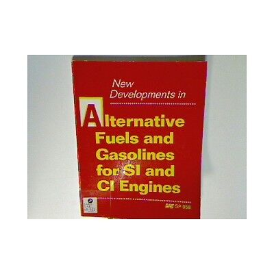 New Developments in Alternative Fuels and Gasolines for Si and Ci Engines (Socie