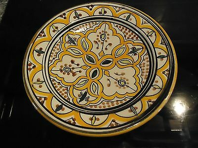 Middle Eastern/arabic Patterned Pottery Dish/bowl