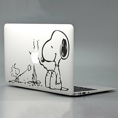 "SNOOPY Pattern Vinyl Decal Sticker Skin For Macbook Air/Pro 11/13/15/17"" Laptop"
