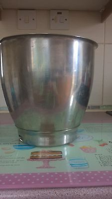 KENWOOD CHEF A707 MAJOR STAINLESS STEEL MIXING BOWL  PART No 15000