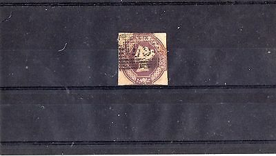 GB. Qv 1854 6d embossed stamp used