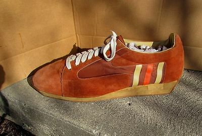 1970's Vintage Adidas Suede Large Athletic Shoe Store Display