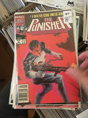THE PUNISHER #5 VF/NM 1st Print CANADIAN PRICE VARIANT Mike Zeck