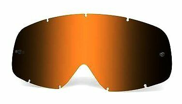 Oakley O Frame Genuine Black Iridium Motocross Replacement Lens Free UK Post KTM