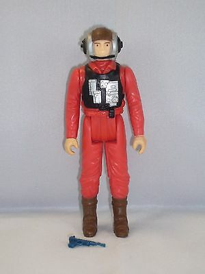 Star Wars - Kenner - B-Wing Pilot - 100% Completed - Vintage '84