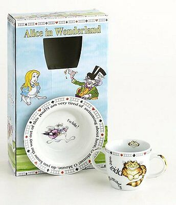 NEW! CARDEW DESIGN Alice in Wonderland Baby Mug & Bowl