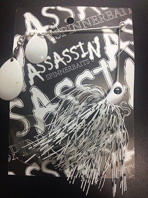 Assassin Spinnerbaits murray cod and yellowbelly 1 X 5/8 OZ #83