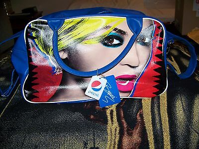 NEW W/ TAGS Beyonce Knowles PEPSI Travel Hand Tote Bag Purse Carrying Case Rare