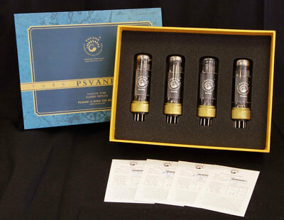 Psvane EL34PH/4 Xtreme Classic, Matched Quartet in exclusive gift boxes