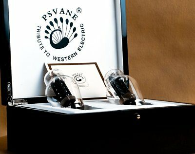 Psvane WE300B Replica, Matched Pair in exclusive gift boxes