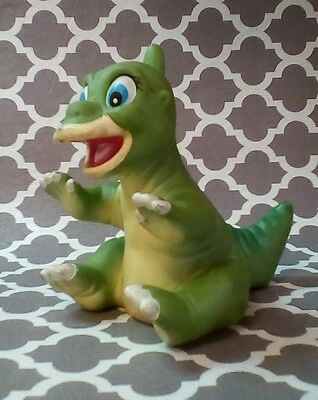 Vintage 1988 Land Before Time DUCKY Vinyl Hand Puppet Pizza Hut