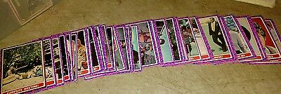 1968 MOD SQUAD Topps Trading Cards 52 of 55 Card Set Good Cond. Need 55 , 47, 37
