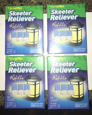 ThermaCell Skeeter Reliever SR-1 Refills 4, New