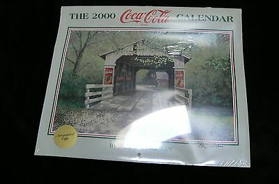 The 2000 Coca Cola Calender in Original Wrap Signed by Jim Harrison