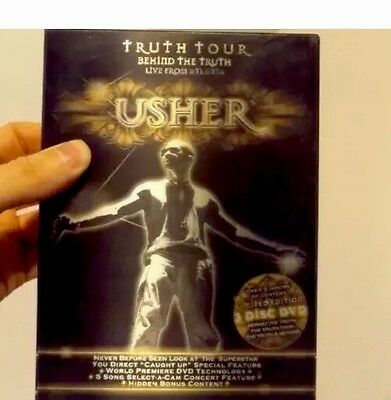 New Usher Behind The Truth Tour Live In Atlanta 3-DVD Limited Lenticular Edition