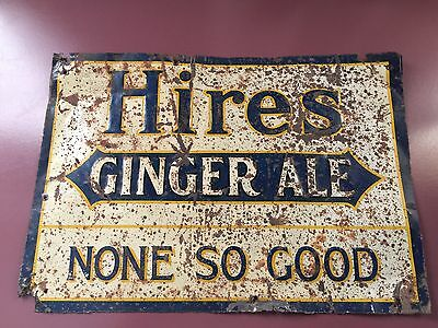 Hires Ginger Ale Sign Early & Rare