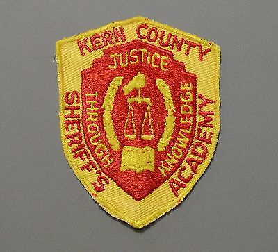 Kern County California Sheriff's Academy Patch