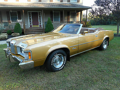 1973 Mercury Cougar conv 1973 Mercury Cougar XR-7 Conv original paint with 67,391 2 owners rust free car