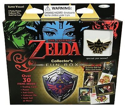 2017 Legend Of Zelda Fun Box Trading Cards and Pin, Enterplay