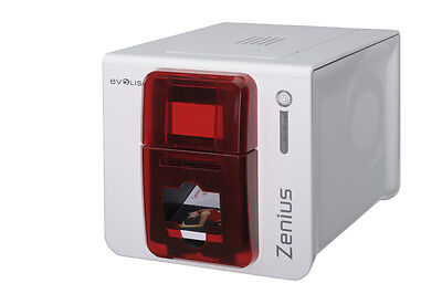 Evolis Zenius Expert Single Sided ID Card Printer (Ethernet/USB)