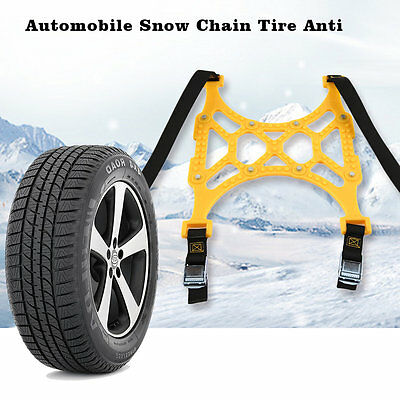 Automobile Snow Chain Tire Anti Skid Thickened Wheel TPU Chain For Car Tire EM