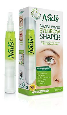 Nads 6g Hair Removal Facial Wand Eyebrow Shaper Salon Quality Brows At Home