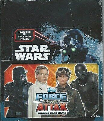 Star Wars Trading Cards - Unopened Box Brand New  Force Attax TOPPS