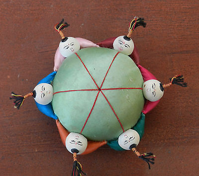 Vintage Chinese Children Pin Cushion
