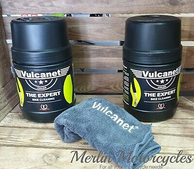 2 X Vulcanet Cycle / Bike All-in-one, Cleaning, Degreasing, Polishing, Lubricant