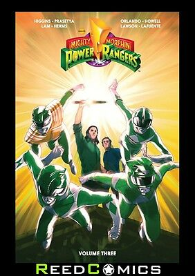 MIGHTY MORPHIN POWER RANGERS VOLUME 3 GRAPHIC NOVEL New Paperback