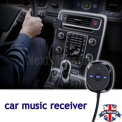 3.5mm Car AUX Adapter USB Charger Wireless Bluetooth Audio Music Receiver