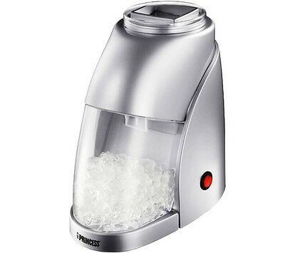 Princess Icecrusher Silver 55 Watt Ice Crusher Ice-Crusher Eis